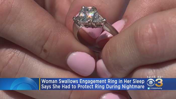 California Woman Swallows Engagement Ring In Her Sleep