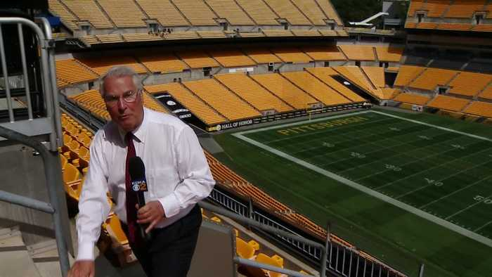 Reporter Update: Jon Delano - Visiting Steelers Fans