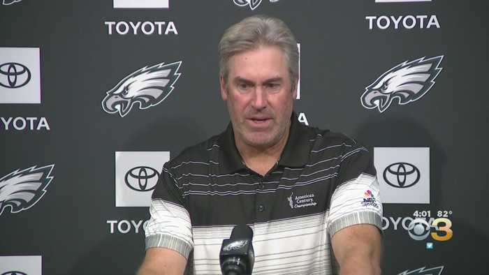 Doug Pederson Reacts As Eagles Look To Bounce Back Following Week 2 Loss