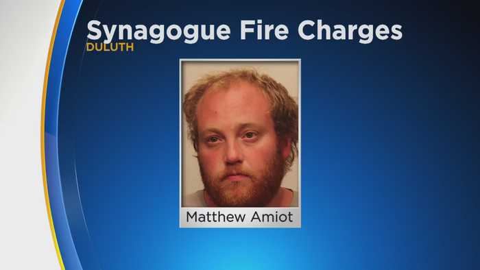 Matthew Amiot Charged In Duluth Synagogue Fire