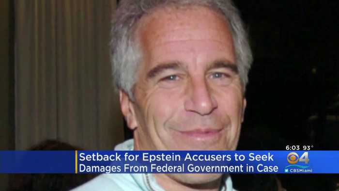 Setback For Epstein Accusers Seeking Damages