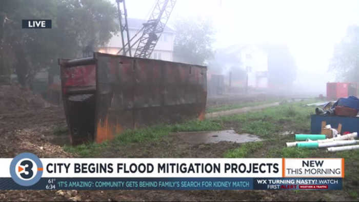 City begins flood mitigation projects