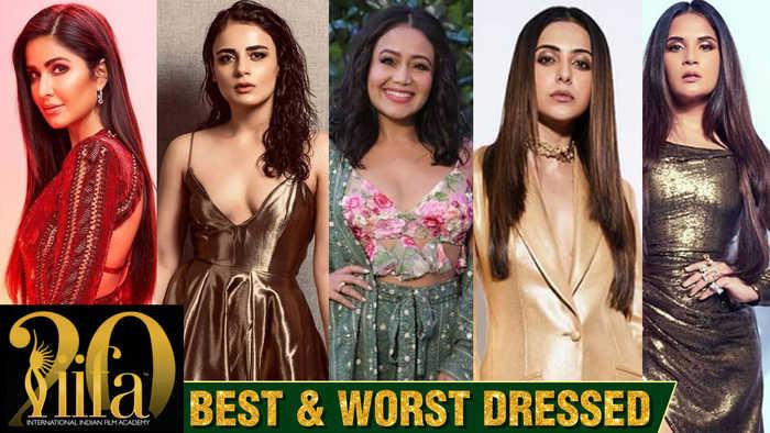Best & Worst Dressed   Katrina Kaif, Radhika Apte, Rakul Preet Singh, Richa Chadda   IIFA Rocks 2019