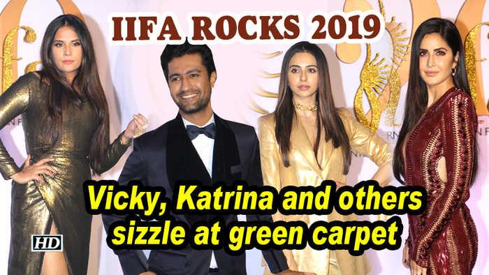 IIFA Rocks 2019 | Vicky, Katrina and others sizzle at green carpet
