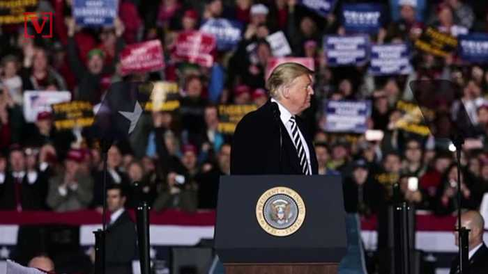 #MeToo Movement Takes Center Stage at President's New Mexico Campaign Rally