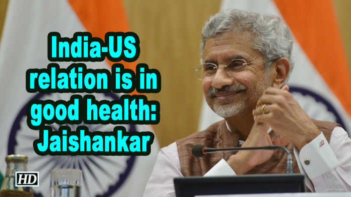 India-US relation is in good health: Jaishankar