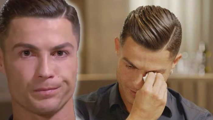 Cristiano Ronaldo Cries In Interview About His Father & New Allegations