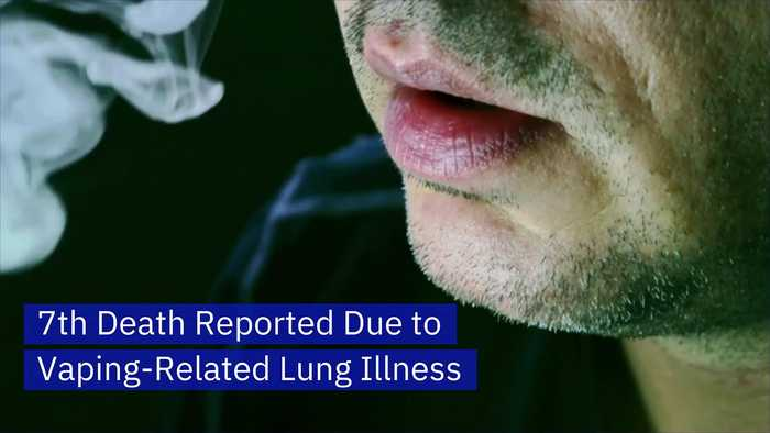 7th Death Reported Due to Vaping-Related Lung Illness