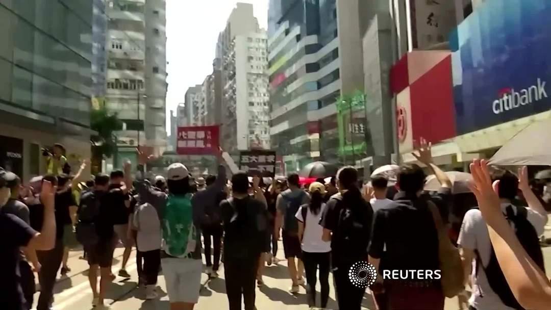 Hong Kong activists seek support in U.S. Congress