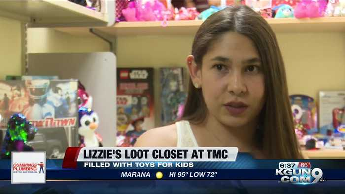 TMC Toy Closet donate by Team Lizzie Bell