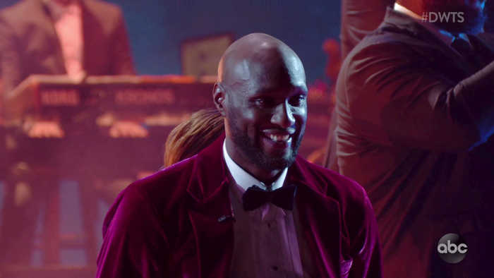 Lamar Odom's Poised Foxtrot