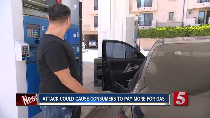 Attack could cause spike in gas prices