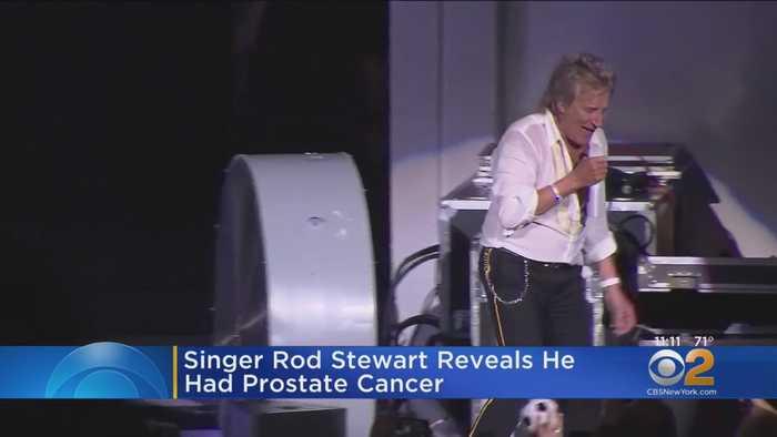 Singer Rod Stewart Reveals He Had Prostate Cancer
