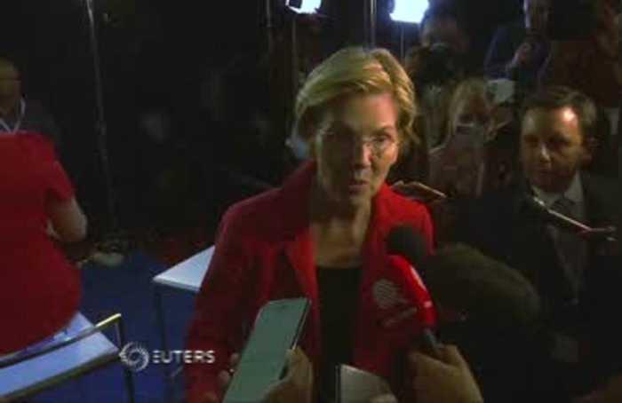 Warren vows to tackle U.S. corruption