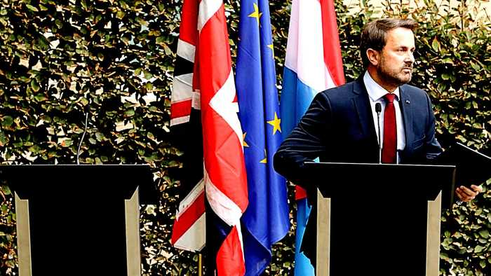 Boris Johnson skips news conference with Luxembourg PM