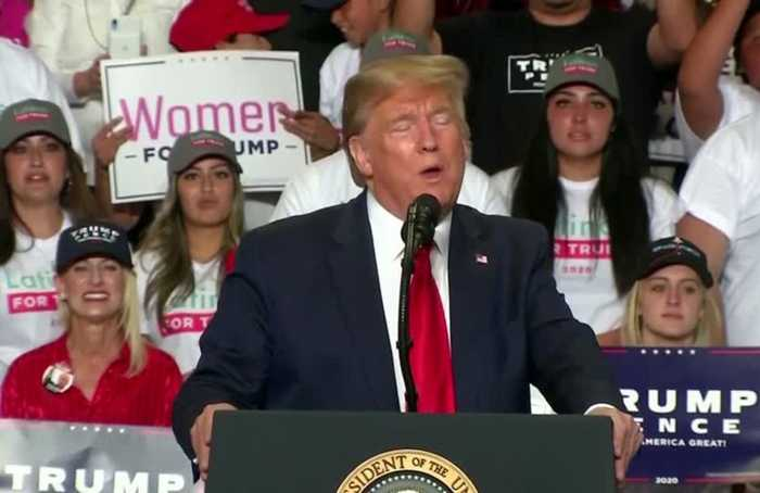 Trump rallies to flip New Mexico, a state he lost