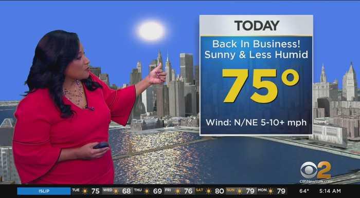 New York Weather: Terrific Tuesday
