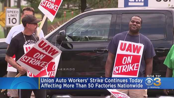Union Auto Workers' Strike Continues Nationwide