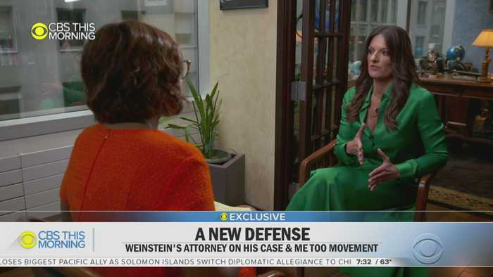 Gayle King Interview Harvey Weinstein's Lawyer
