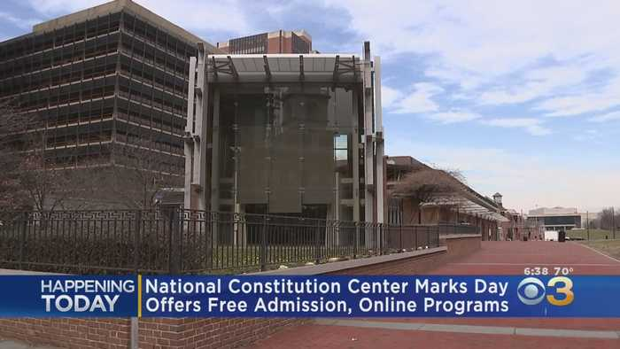 National Constitution Center Offering Free Admission On Constitution Day