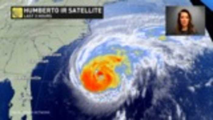 Hurricane Humberto will become a major with a near miss for Bermuda