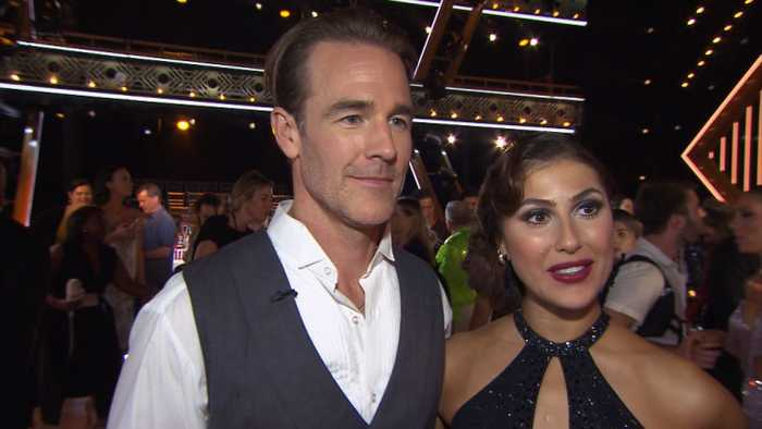 James Van Der Beek Reacts To Earning Highest Score On 'DWTS' Premiere