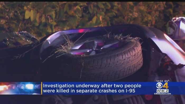 2 Killed In Separate Crashes Minutes Apart On I-95 In Attleboro Area