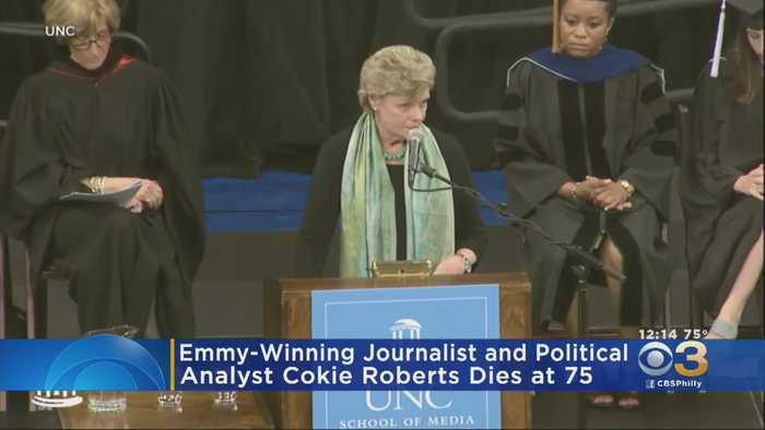 Emmy-Winning Journalist, Political Analyst Cokie Roberts Dies At 75
