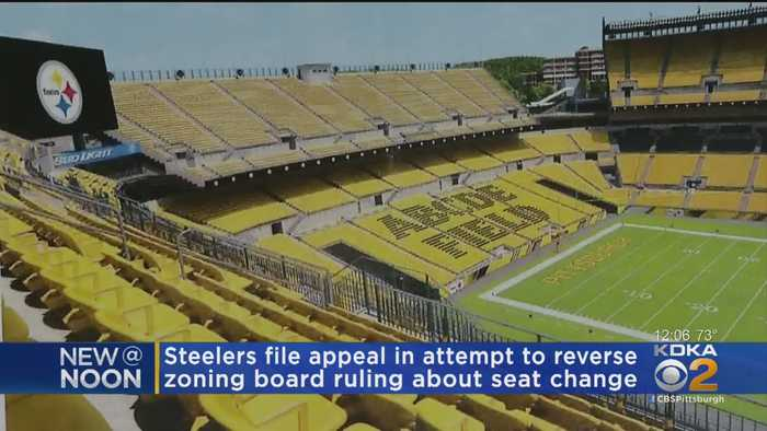 Steelers Appealing To Court Over Stadium Seating Signage Ruling
