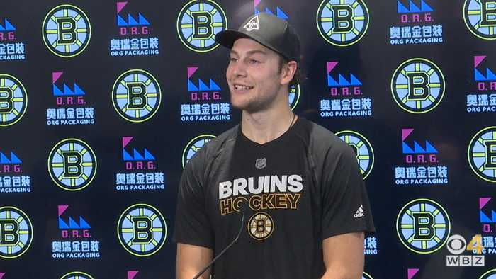 Brandon Carlo 'Excited And Blessed' After Signing New Deal With Bruins