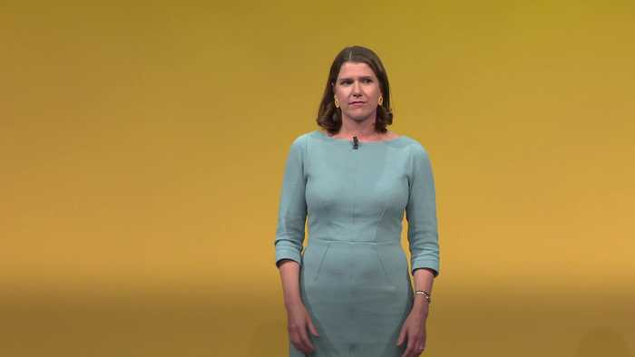 Lib Dems' Jo Swinson: Being a woman will not stop me toppling Boris Johnson