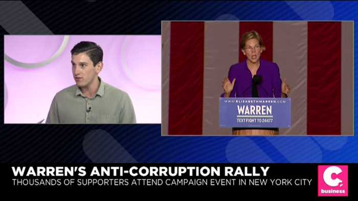 Look Back at Elizabeth Warren Rally in NYC