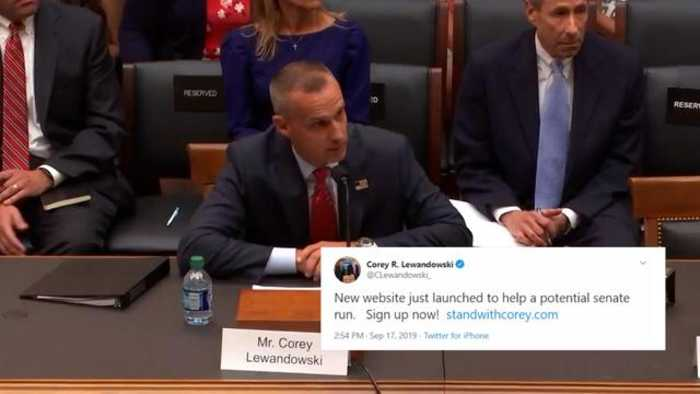 Lewandowski Teases 'Potential Senate Run' Amid His Appearance Before House Judiciary Committee