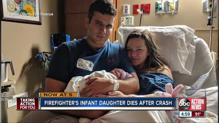 Community mourning loss of Pasco firefighter's baby daughter