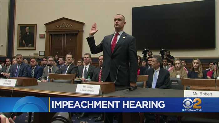 White House Blocks Witnesses From Testifying In Impeachment Hearing