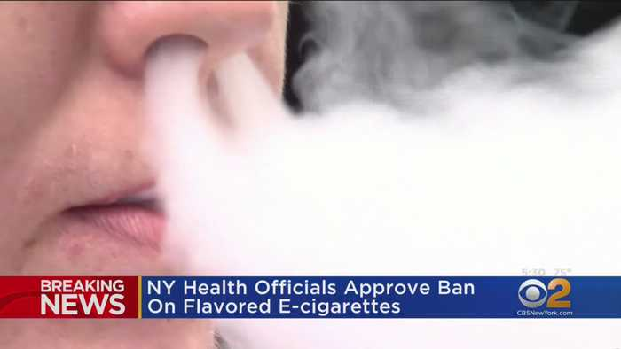 NY Health Officials Approve Ban On Flavored E-Cigarettes