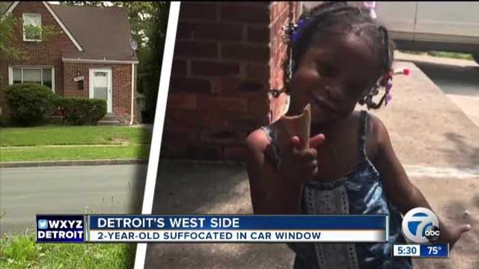Toddler dies after closing car's power window on her head as her dad slept in front seat