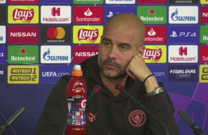 Stones out for a month but Pep refuses to complain