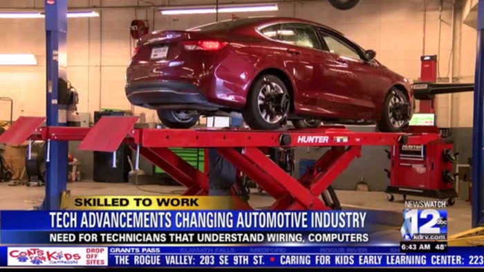 Tech advancements are changing the automotive industry
