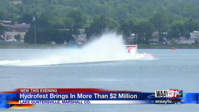 Hydrofest Brings In More Than $2 Million