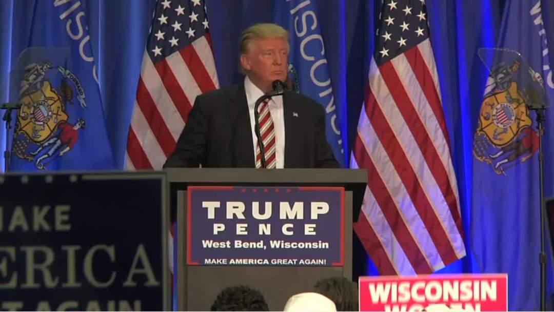 Trump Has Battle In Wisconsin