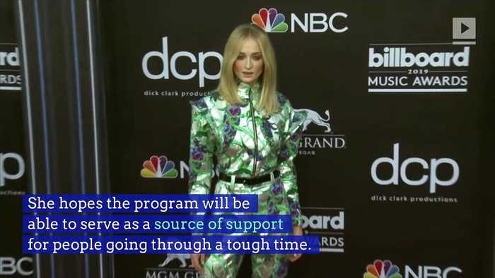 Sophie Turner Wants to Help Those 'Struggling With Self-Worth'
