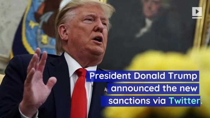 Trump Orders New Iran Sanctions in Response to Saudi Attack