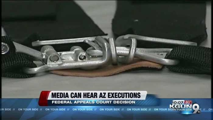 Media should hear Arizona executions, US appeals court rules