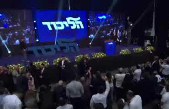 Netanyahu makes no victory claim in speech