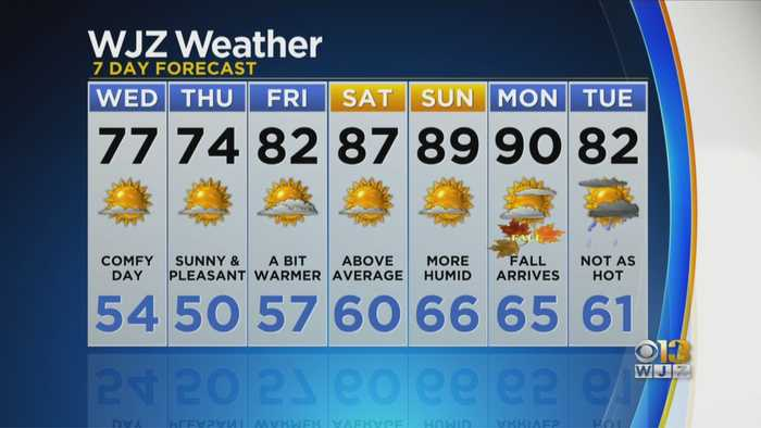 Chelsea Ingram Has One Last Look At Your Tuesday Forecast