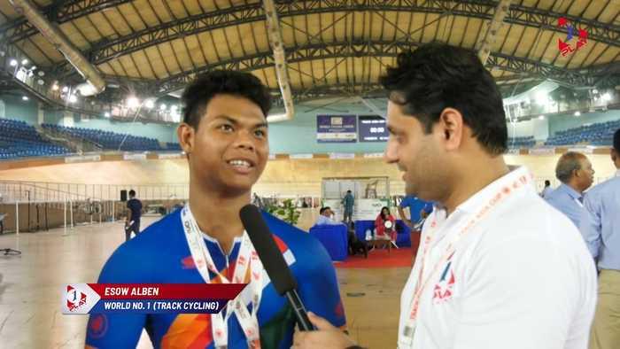 India star Esow Alben Dominates Track Asia Cup 2019