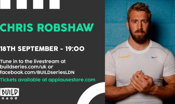 Live From London - Chris Robshaw