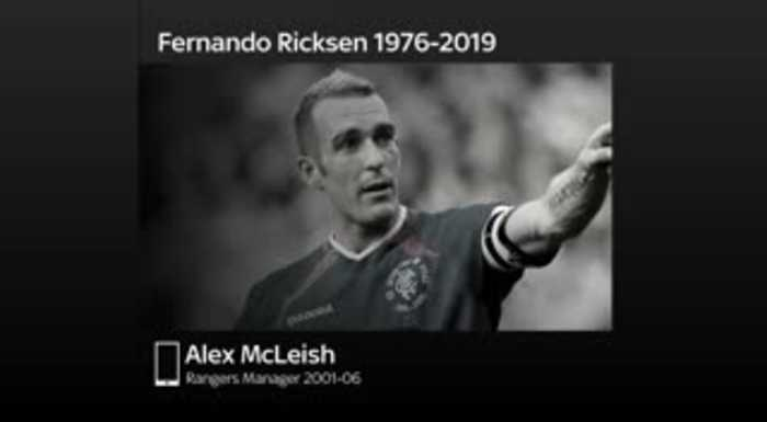McLeish: Great honour to manage Ricksen