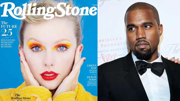 Taylor Swift Calls Kanye West TWO FACED During New Rolling Stone Interview!